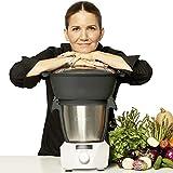 CHEFBOT COMPACT CON VAPORERA - Robot de Cocina Multifunción, Diseño Compacto, Cocina al Vapor, 23...
