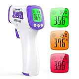Termometro Infrarrojos IDOIT termometro infrarrojos sin contacto termometro frontal pantalla digital...