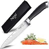 Cuchillos jamón Nego de 9,5 pulg - Cuchillo perfecto para cortar sushi y sashimi, filetear y...