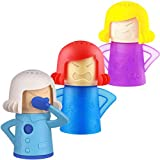 BESLIME Angry Mama Limpiador de Microondas-Limpiador de vapor de microondas Cool Mama Congelador...
