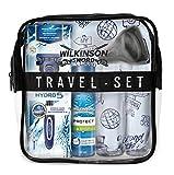 Wilkinson Sword Set de Viaje con Máquina de Afeitar Recargable de 5 Hojas + Protector de Viaje +...