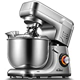 Kealive Batidora Amasadora, 1200W Profesional de 8 Velocidades, Robot de Cocina Automática...