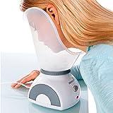 Medisana FSS Sauna Facial, Vaporizador de Cara, Limpieza Profunda de los Poros con Adaptador para la...