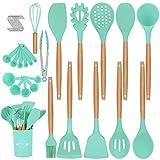Duerer Utensilios Cocina de Silicona, juego de utensilios de cocina 36 piezas, herramienta de cocina...