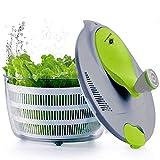kilokelvin El plastico Spinner de Ensalada de Cocina 4 litros Secador rápido de Verduras-Libre de...