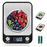 otumixx Báscula de Cocina Digital,10kg/1g, Balanza Cocina Alta Precisión Balanza de Alimentos de...