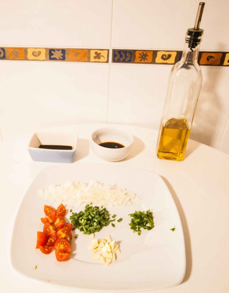 Ingredientes atún marinado 2