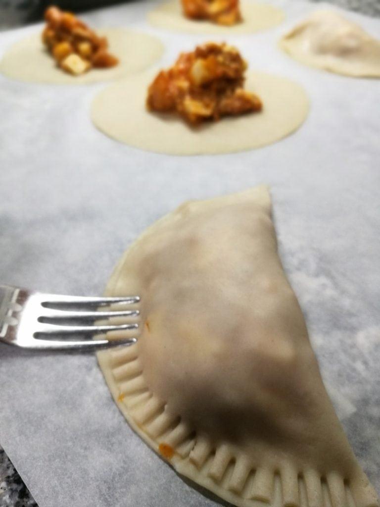 empanadillas tenedor