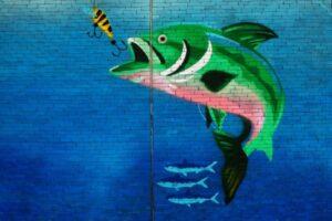pescado blanco y azul