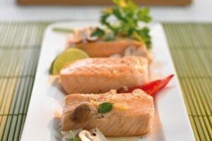 salmon al vapor con verduras 2