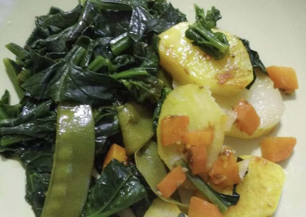 espinacas-con-patatas-al-vapor