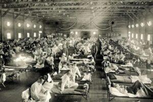 La Pandemia de 1918 (gripe española) y el COVID-19